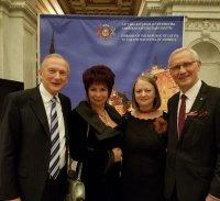 Svinīgā pieņemšana Latvijas vēstniecībā ASV