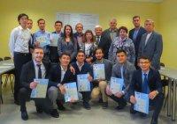 """VU """"Kazaeronavigation"""" speciālistu grupa pabeidza apmācības kursu RAI"""