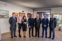 Kazahstānas Republikas vēstniecības pārstāvju vizīte RAI